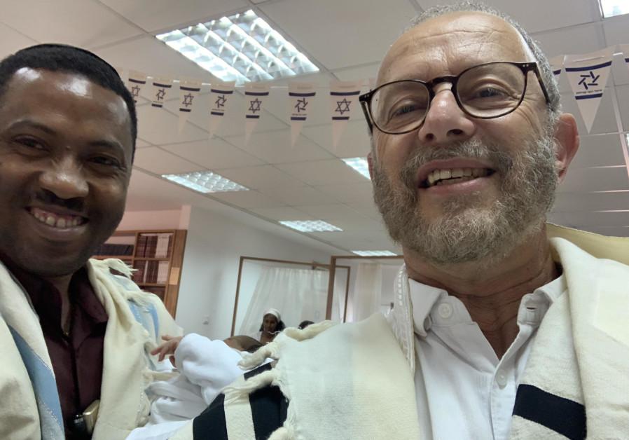 Bris brings hope to Ethiopian community