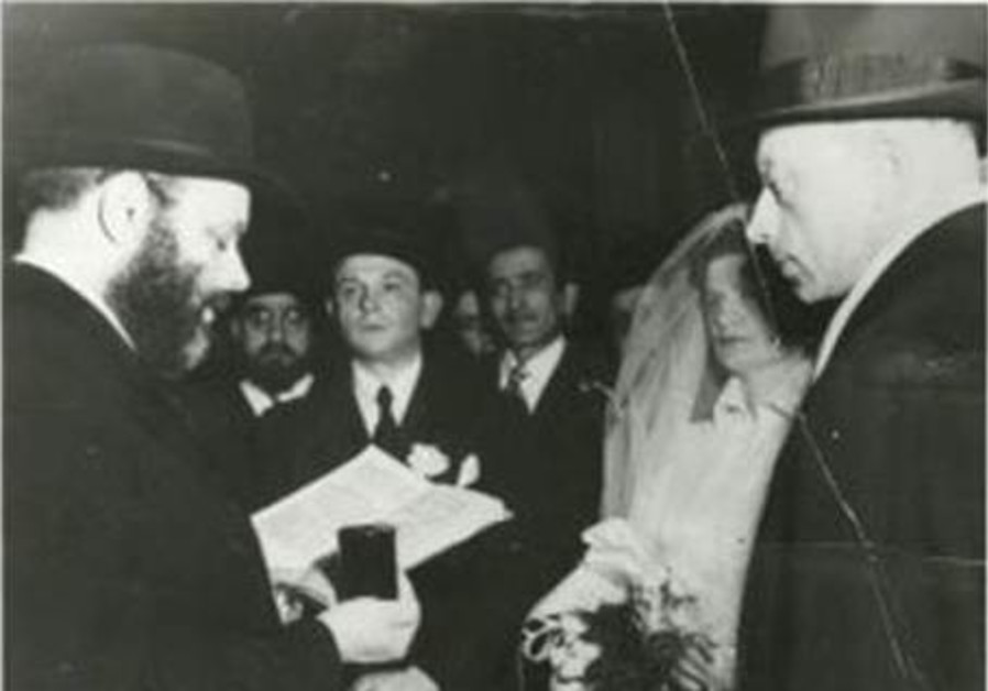 25 years since his passing, a look at the Chabad Rebbe's wedding