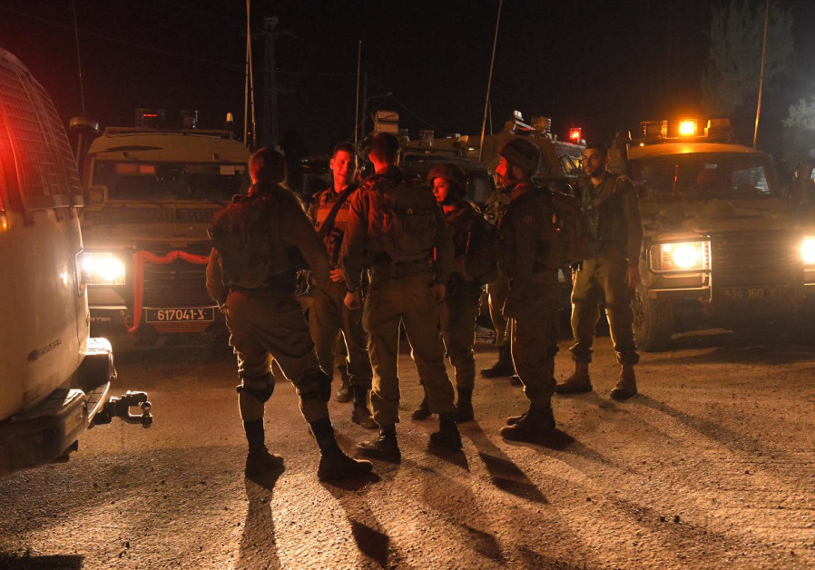 IDF forces catch suspect in ramming attack