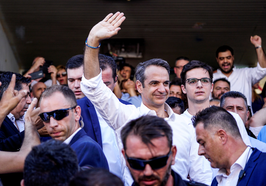 Man set to unseat Greek prime minister is as pro-Israel as his predecessor