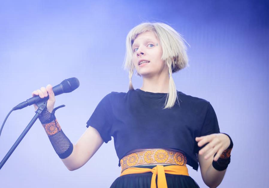 Norwegian pop star Aurora ventures to Israel