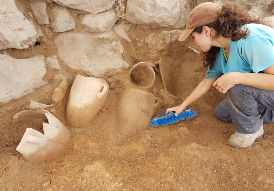 Archaeologist unearths ancient vessels