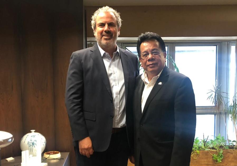 Indonesian Muslim delegation visits Israeli Diamond Exchange