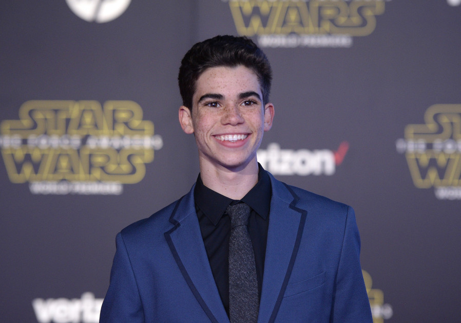 """Actor Cameron Boyce arrives at the premiere of """"Star Wars: The Force Awakens"""" in Hollywood, Californ"""