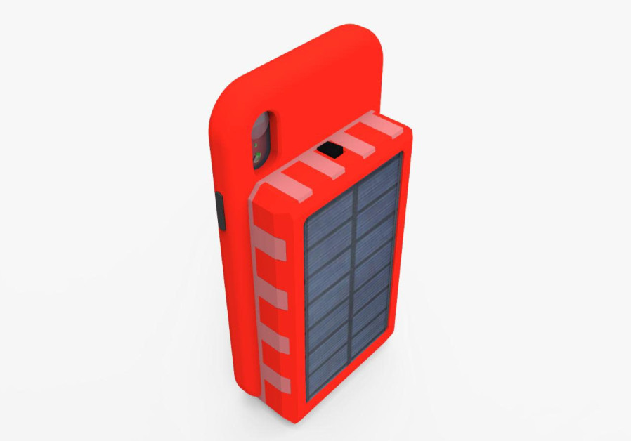 Israeli solar-powered phone case could eliminate the need to plug in