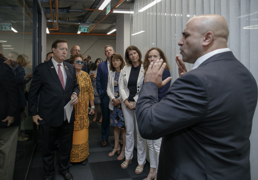 US Congressmen delegation visits Cobwebs Technologies on recent visit to Israel