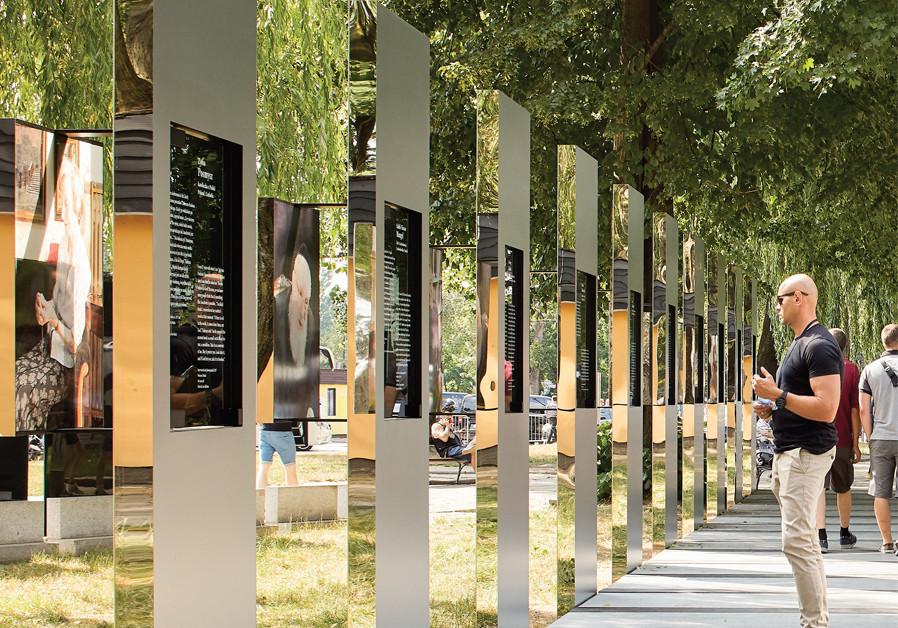 Stories of hope at new Auschwitz art installation
