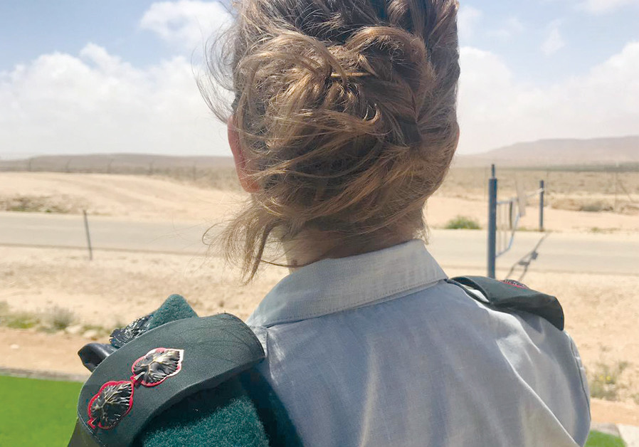 LT.-COL. M, the woman behind Li-Am, the Military Intelligence Directorate's boutique track for new immigrants. (Credit: IDF SPOKESPERSON'S UNIT)