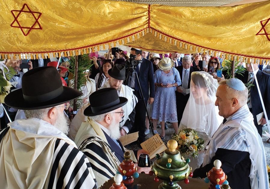 In a small Italian town, the first Jewish wedding since Talmudic times
