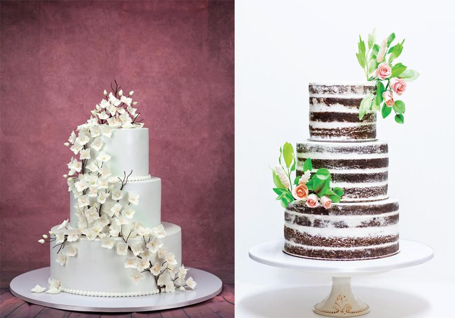 THREE-TIER WEDDING CAKE (Credit: PASCALE PEREZ-RUBIN AND LIMOR ZISMAN)