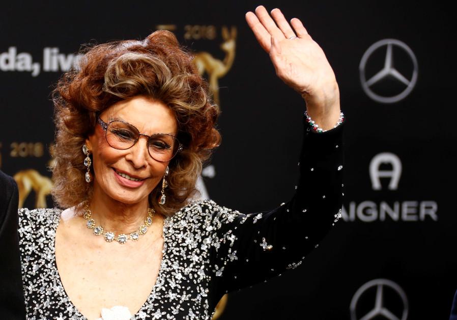 Sophia Loren returning to screen as Holocaust survivor in 'The Life Ahead'
