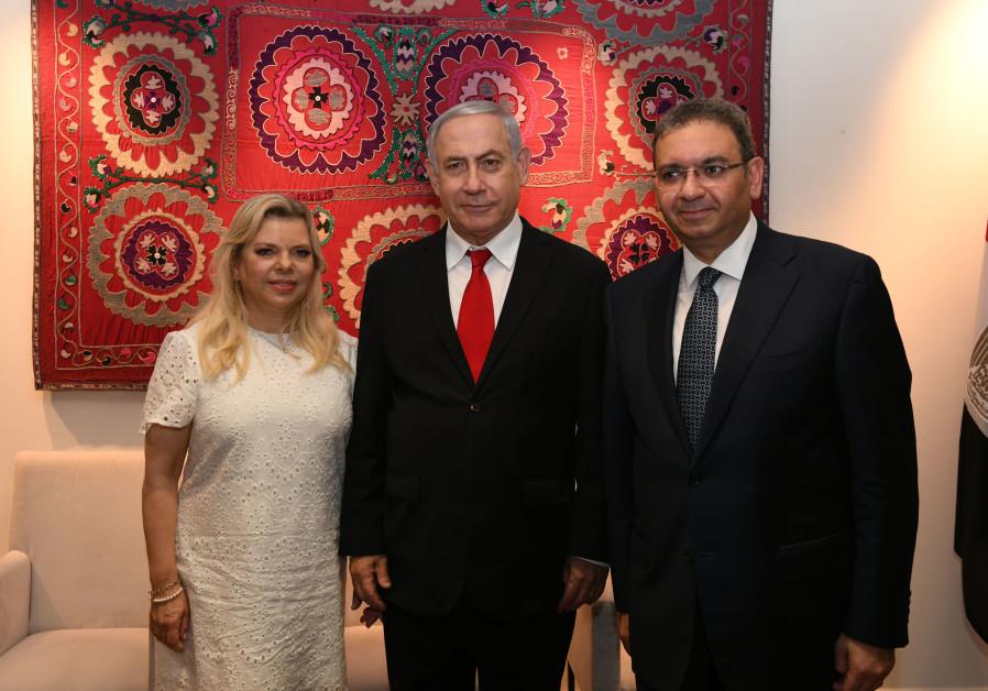 Netanyahu and Rivlin celebrate Egypt's National Day