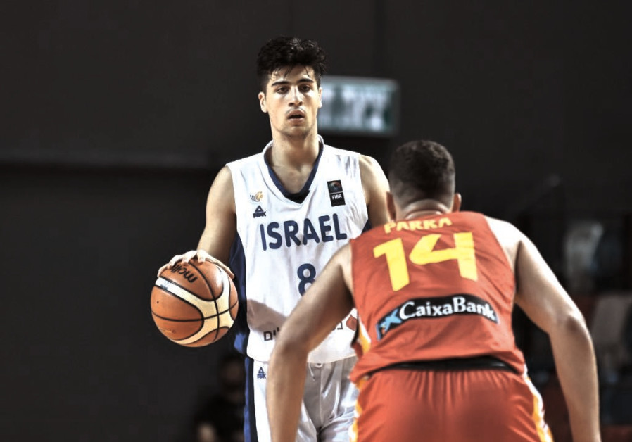 DENI AVDIJA is arguably Israel's best basketball prospect ever, and he hopes to lead the blue-and-wh
