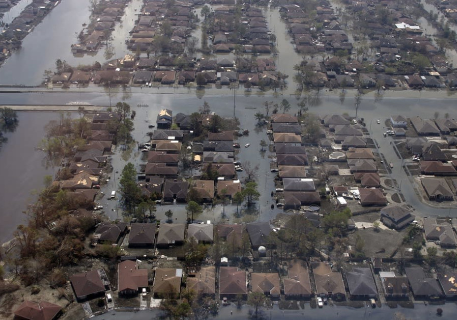 Flooding caused by Hurricane Katrina, New Orleans, 2005