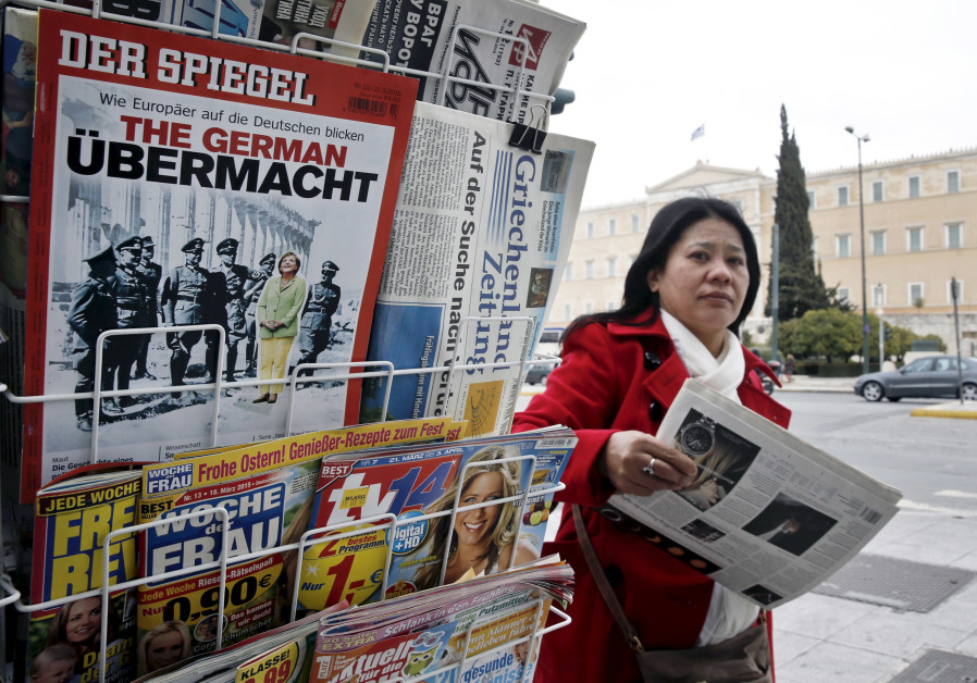 German magazine under fire for promoting anti-Jewish conspiracy