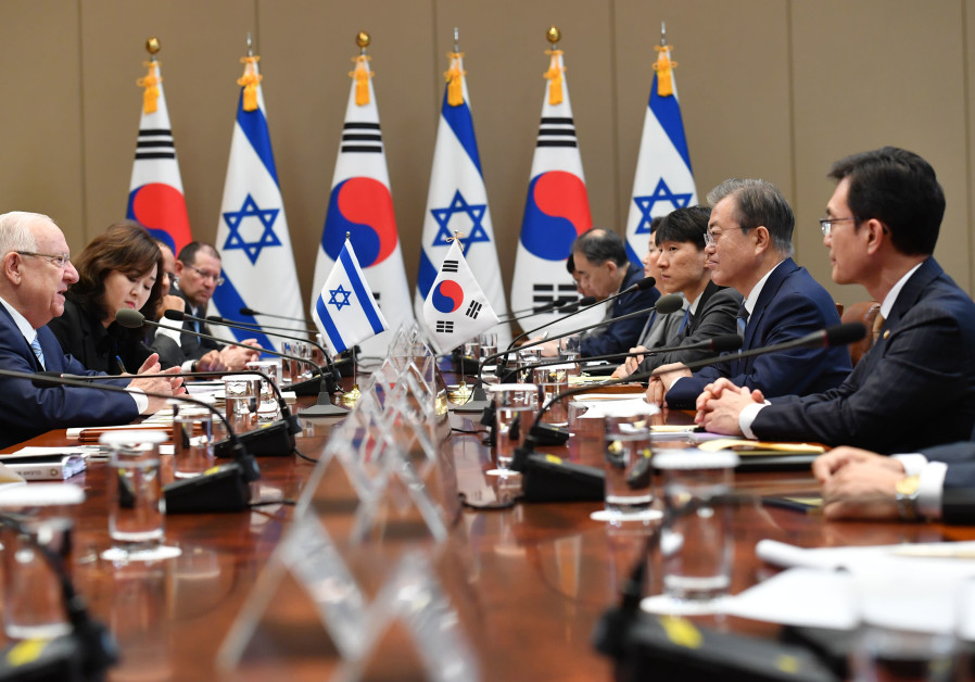 Israel, South Korea conclude talks on Free Trade Agreement