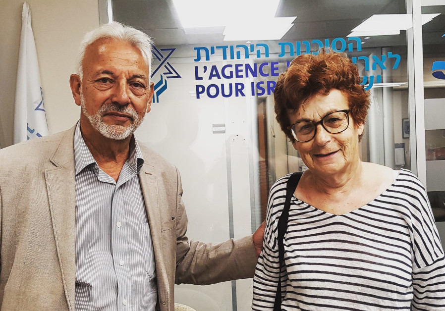 Simon and Alice Midal are making aliya from France on Wednesday because of antisemitism.