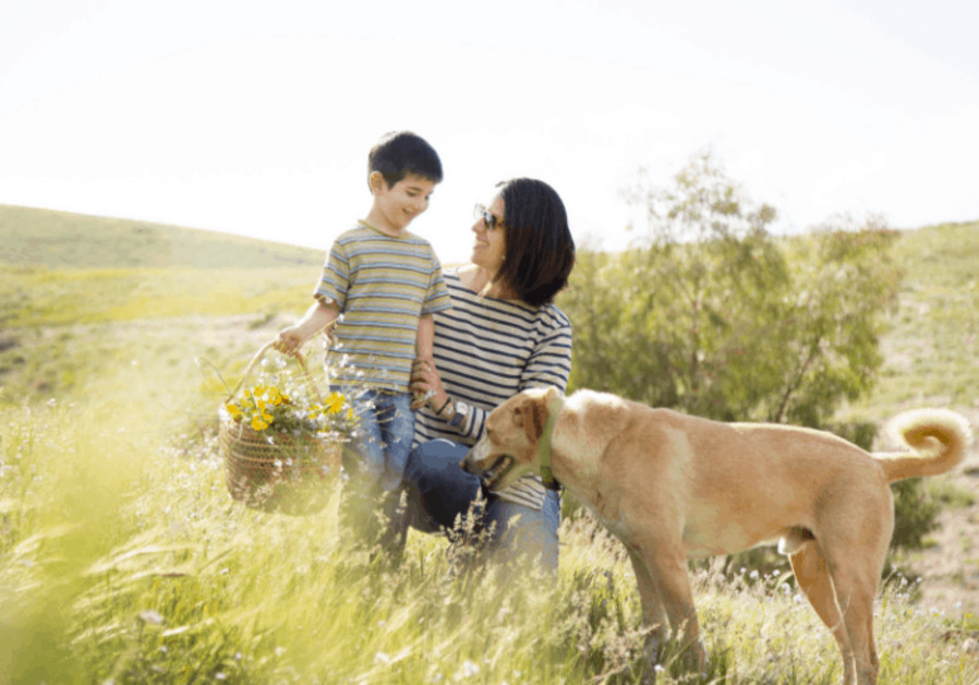 Nature, family and dog.