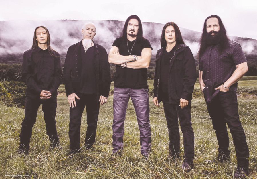 Dream Theater in love affair with Israel