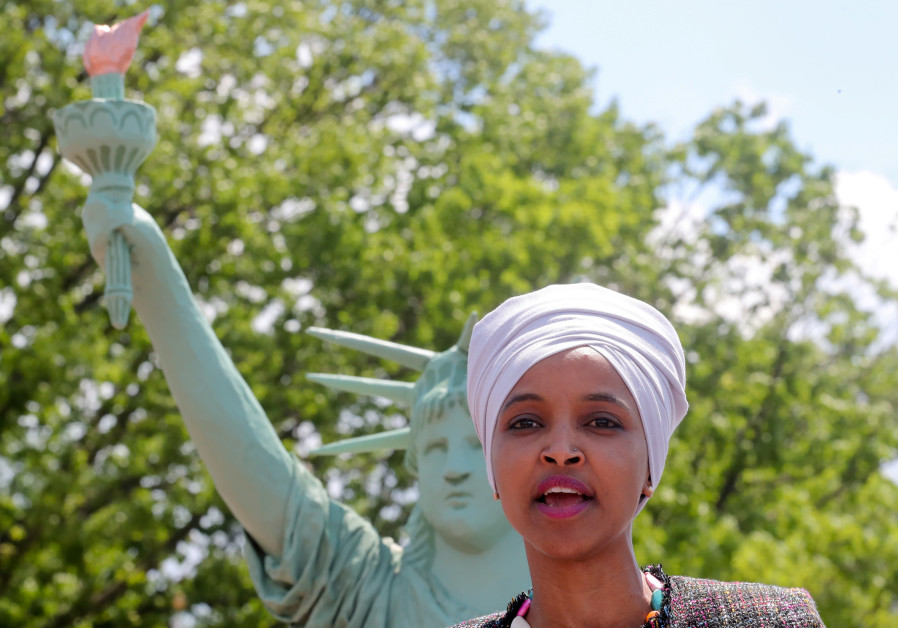 Omar's Resolution To Support BDS Cites Nazi Boycotts, Boston Tea Party