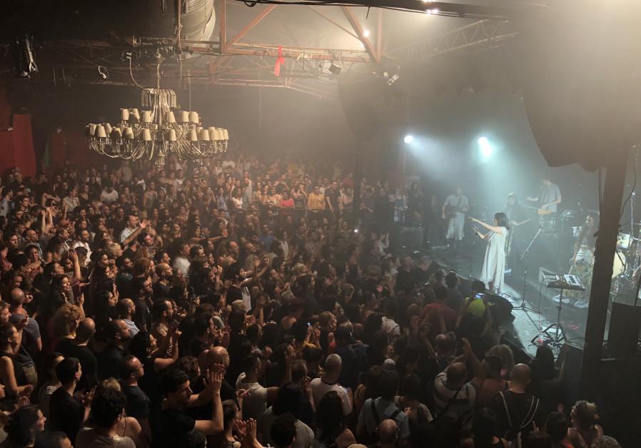 A-Wa performing at Barby Tel Aviv