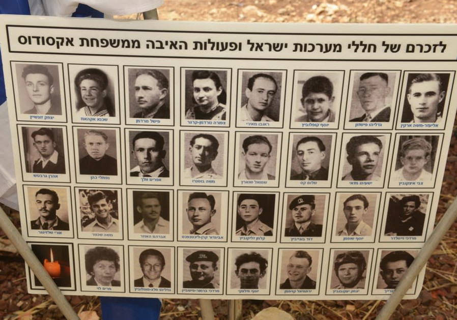 Exodus passengers who later fell in Israel's wars. Photo: Guy Assayag, KKL-JNF Information Network