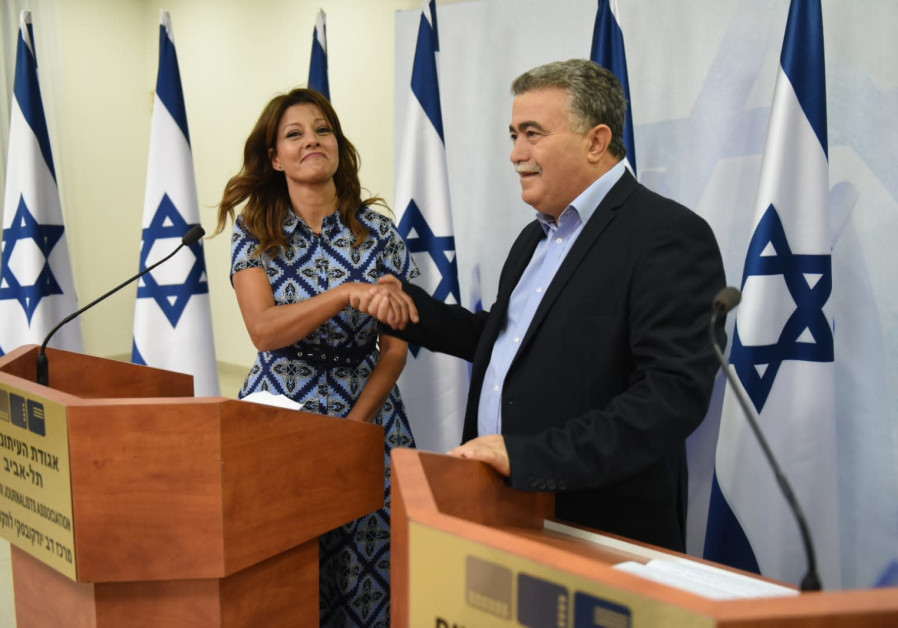 Amir Peretz is joined in the Labor Party by Orly Levy-Abekasis.