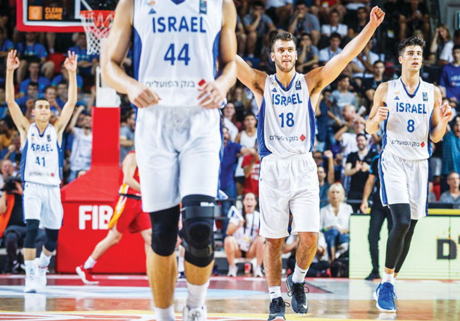 Israel beats Spain to win the Under-20 basketball title