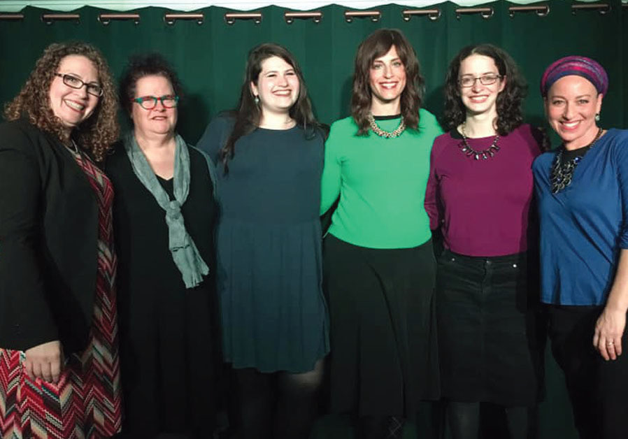 Presenting comedy religiously Jewish women take the stage