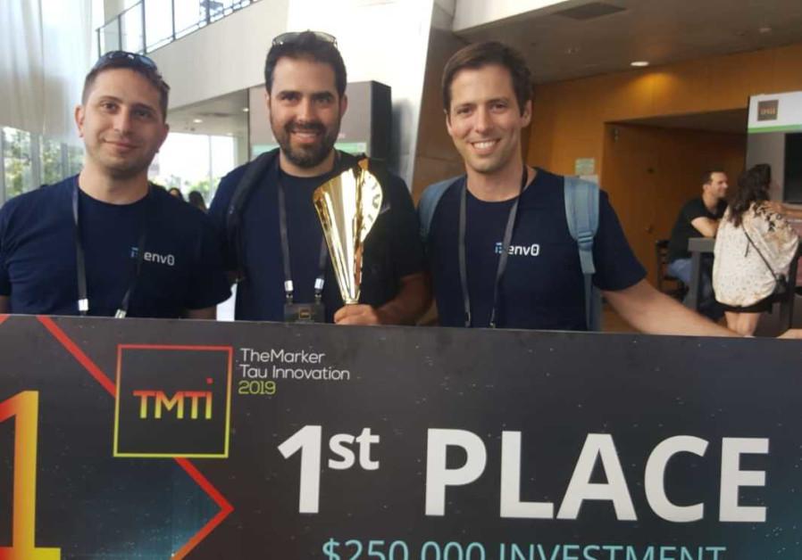(From left) env0 CEO Ohad Maislish, CTO Omry Hay and Roni Frantchi