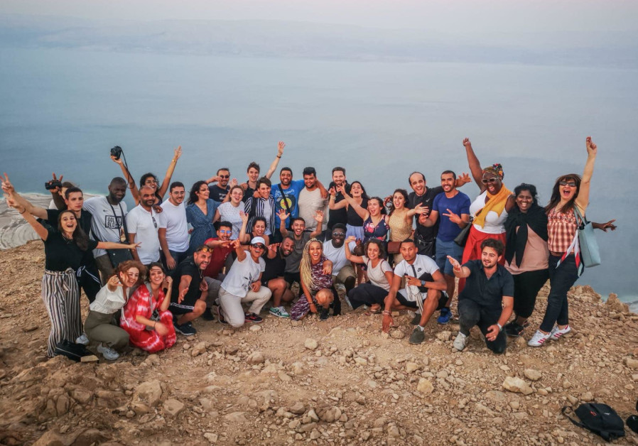A delegation of Jewish and non-Jewish students were in Israel this week to learn about tolerance and