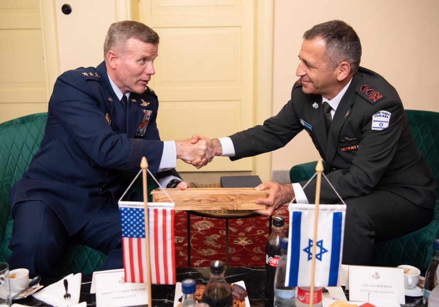 IDF Chief of Staff Aviv Kochavi met U.S. European Commander Tod Wolters