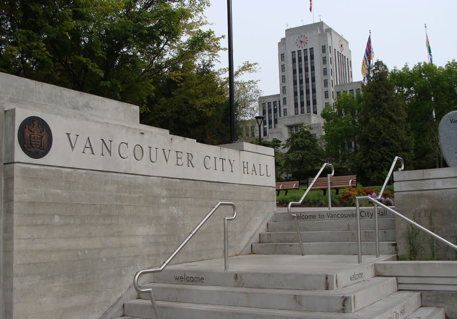 Vancouver City Hall in Canada.