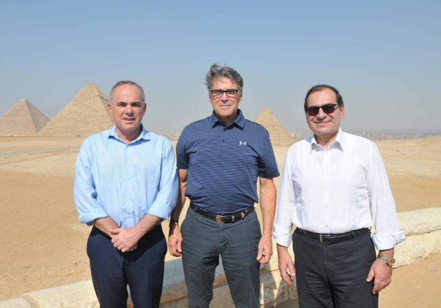 Minister Steinitz visits Egypt as historical energy deal set to start