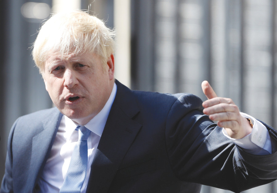 BRITAIN'S PRIME Minister Boris Johnson – he might ignite a post-Brexit Britain prosperity and instil