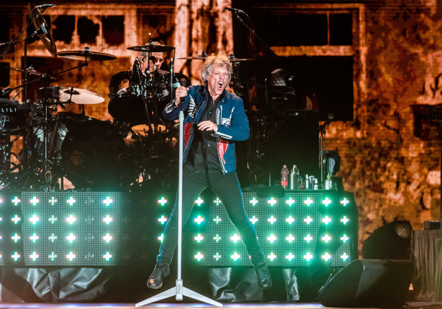 Bon Jovi gives love for Israel a good name