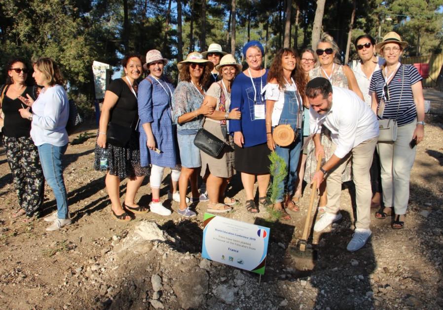 Jewish educators come to Israel to improve understanding  (Credit: YOAV LIN/KKL-JNF)