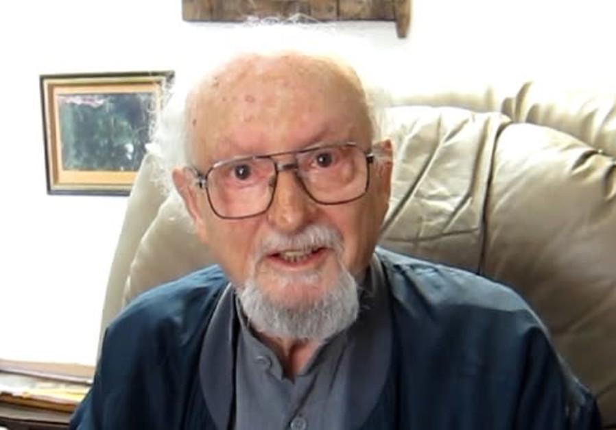 Poet, translator Tuvya Ruebner passes at age 95