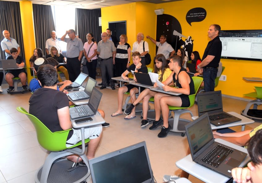 Upper Nazareth: Students Eligible for Matriculation up by 15%, Thanks to KKL-JNF House