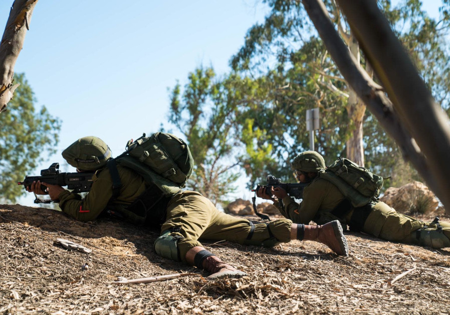 IDF solders of the Southern Command take part in a drill. (IDF)