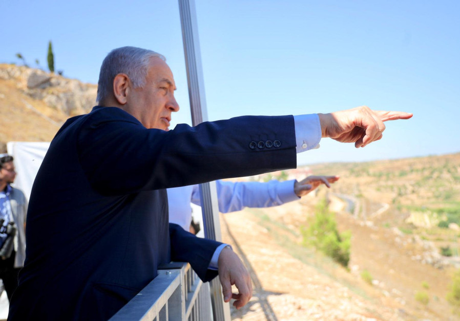 Netanyahu pledges to secure U.S. support not to evacuate settlements