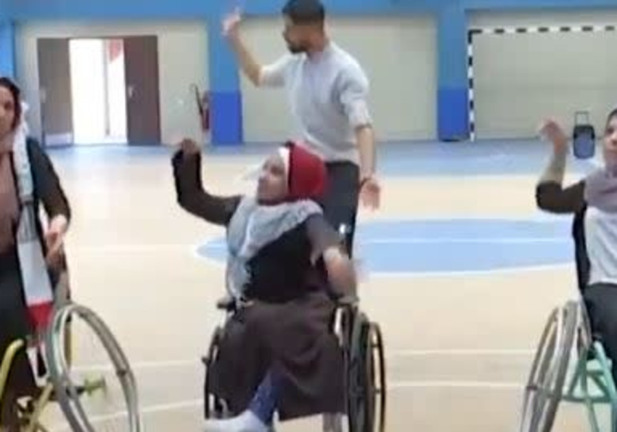 Gaza wheelchair dancers