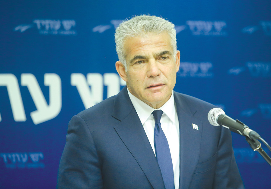 YAIR LAPID: Our vision for Israeli society is based on a far less eye-catching idea – life isn't a z