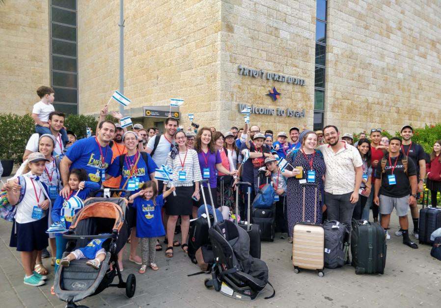 NBN Aliyah flight