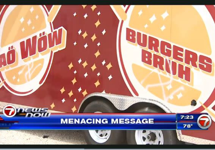 Swastikas found on food truck in Miami