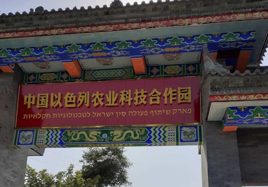 Israel between the Chinese dragon and the American elephant