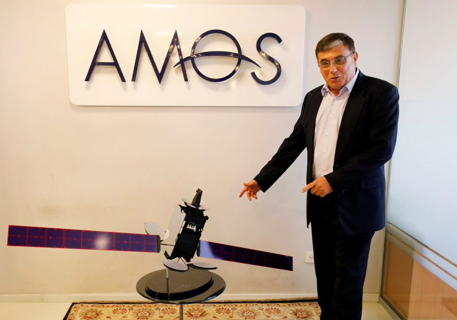 Amos-17 satellite ready for take-off from Cape Canaveral on Tuesday night