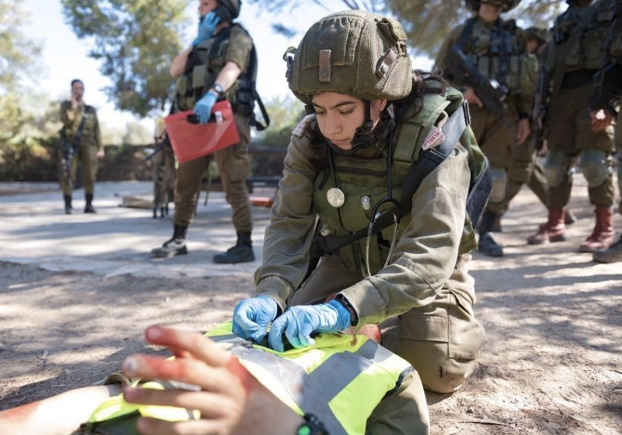 Training under fire: IDF drills battlefield evacuations