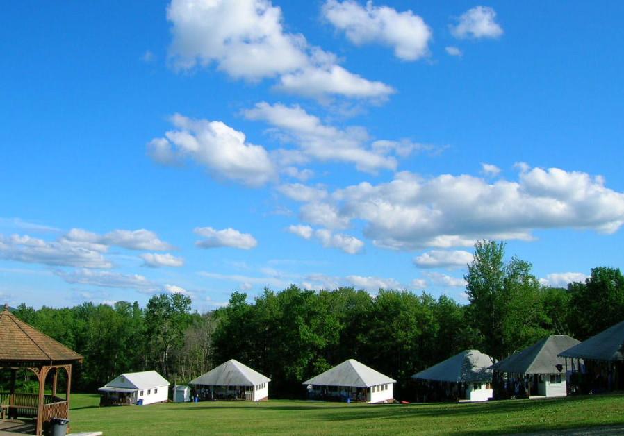 Camp Ramah boys camp in the Poconos, illustrative picture
