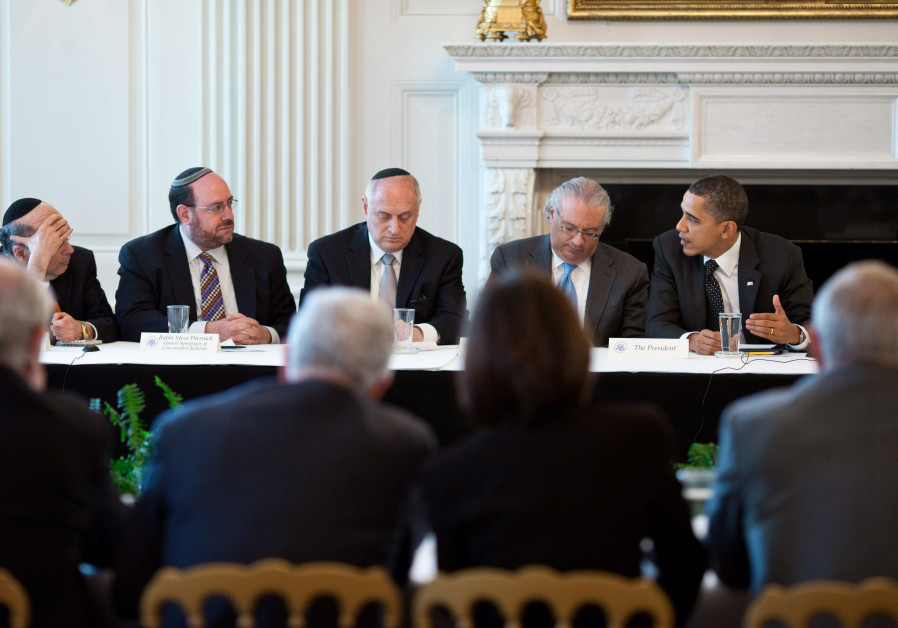 Obama and Conference of Presidents of Major American Jewish Organizations